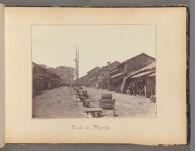 Work 6 of 47 Title: Street in Atzungi Creator: Beato, Felice Date: 1867?