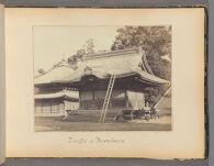 Work 7 of 47 Title: Temple of Kamakura Creator: Beato, Felice Date: 1867?