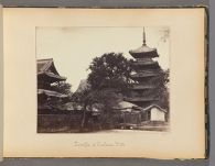 Work 8 of 47 Title: Temple of Osaksa, Yedo Creator: Beato, Felice Date: 1867?