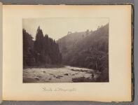 Work 11 of 47 Title: Brook at Meyangoshi Creator: Beato, Felice Date: 1867?