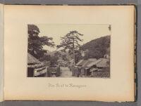 Work 15 of 47 Title: Road to Kanagawa Creator: Beato, Felice Date: 1867?
