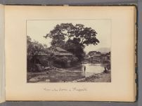 Work 26 of 47 Title: View in the town of Nagasaki Creator: Beato, Felice Date: 1867?
