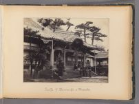 Work 30 of 47 Title: Temple of the Dai-wan-g[?]i of Nagasaki Creator: Beato, Felice Date: 1867?