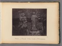 Work 35 of 47 Title: Male and female idols, temple of Attanga... Creator: Beato, Felice Date: 1867?