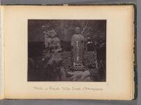 Work 35 of 47 Title: Male and female idols, temple of Attanga... Creator: Beato, Felice Date: 1867?