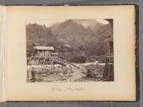 Work 43 of 47 Title: Bridge at Meyangoshi Creator: Beato, Felice Date: 1867?