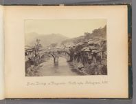 Work 46 of 47 Title: Stone bridge at Nagasaki, built by the P... Creator: Beato, Felice Date: 1867?