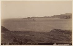 Work 29 of 58 Title: Golden Gate from Point Lobos to Point Bo... Creator: Taber, I. W. Date: 1881?