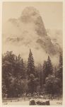 Work 37 of 58 Title: Granite dome, possibly Half Dome, Yosemi... Creator: Fiske, George Date: ca. 1884