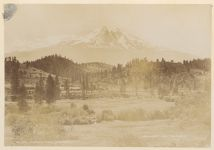 Work 47 of 58 Title: Mt. Shasta from Edgewood Date: ca. 1895