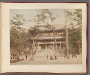 Work 3 of 58 Title: Sanmon gate at Chion-in temple, Kyoto Date: 188-?