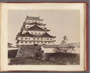 Work 9 of 58 Title: Castel [sic], Nagoya Creator: Farsari, Adolfo Date: ca. 1888
