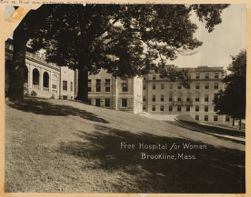 Looking north at additions.  Free Hospital for Women, Brookline, Mass.