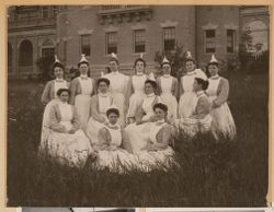 Nursing staff group portrait