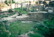 Octagonal building, Palace of Galerius, Thessaloniki, Macedonia, Greece