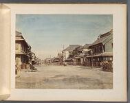Work 15 of 50 Title: Honcho dori, Yokohama Creator: Tamamura, Kozaburo Date: ca. 1885