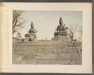 Work 17 of 50 Title: Statues of Buddha at Sensoji, Tokyo Creator: Tamamura, Kozaburo Date: ca. 1876