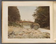 Work 26 of 50 Title: View near vermilioned bridge, Nicco Creator: Tamamura, Kozaburo Date: 188-?