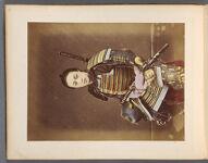Work 36 of 50 Title: Samurai wearing armor Creator: Tamamura, Kozaburo Date: ca. 1876