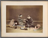 Work 48 of 50 Title: Doctor and patient Creator: Stillfried, Baron Raimund von Date: ca. 1876