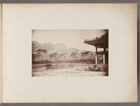 Work 3 of 24 Title: Corner of the summer palace [Changgyeong... Creator: Lowell, Percival Date: 1884