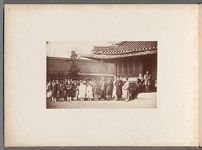 Work 4 of 24 Title: U.S. legation at Seoul: [Lucius] Foote, ... Creator: Lowell, Percival Date: 1884