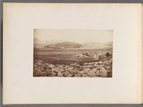 Work 16 of 24 Title: Suburbs of Seoul, the city lies over the... Creator: Lowell, Percival Date: 1884