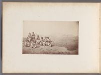 Work 18 of 24 Title: Group of Korean boys on the edge of a st... Creator: Lowell, Percival Date: 1884