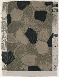 Panel C; Four Panels From Untitled 1972 (Grays And Black)