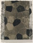 Panel B; Four Panels from Untitled 1972 (Grays and Black)