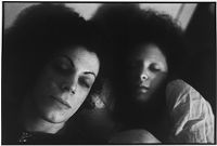 Self-Portrait With Kenny In Bed, Boston