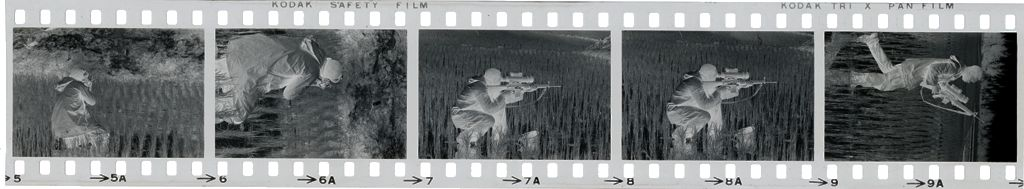 Untitled (Soldier In Rice Paddy, Vietnam)