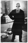 George Barrows in Robert Frank's Loft, New York, N.Y.