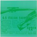 Italian Carbine in Green