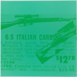 Italian Carbine In Green
