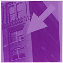 Texas School Book Depository in Purple