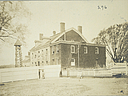 Charity, Aged: United States. New York. New York City. Home for Aged and Infirm, Richmond Division, Staten Island: Home for Aged and Infirm, Borough of Richmond Division, Staten Island (New York City Almshouse System): Men's Building Before Improvements.   Social Museum Collection