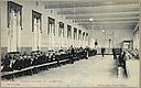 Charity, Children: Belgium. Ghent. Orphelinat de garçons: Social Conditions in Belgium: 1905: Gand. - Orphelinat de Garçons.  II - Le Réfectoire.   Social Museum Collection