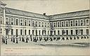 Charity, Children: Belgium. Ghent. Orphelinat de garçons: Social Conditions in Belgium: 1905: Gand. - Orphelinat de Garçons.  IV. - Exercice au báton.   Social Museum Collection