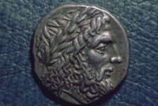 SIlver didrachm of Elis