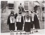 Commencement at Harvard University, 1971. olvwork302473