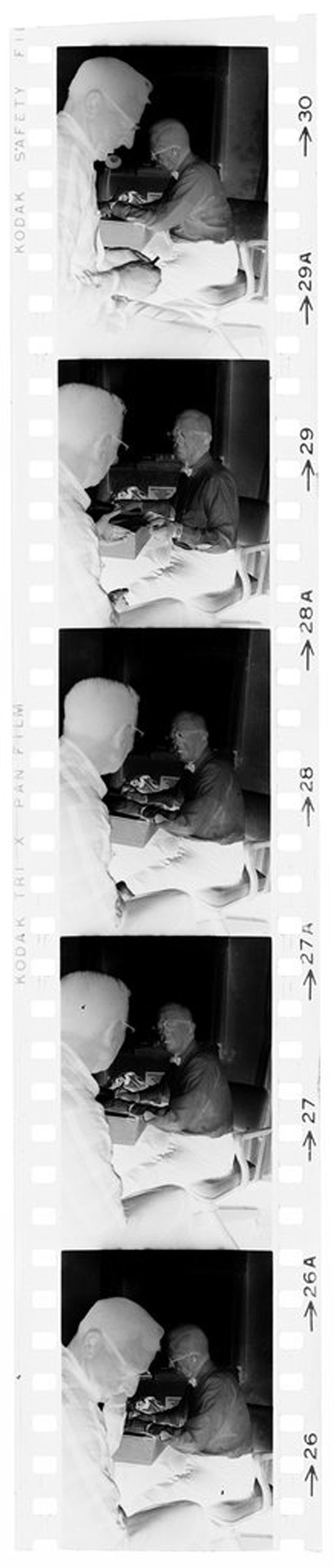 Untitled (Dr. Herman M. Juergens Talking With Patient)