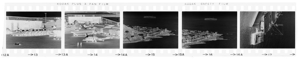 Untitled (Airfield And Aerial View Of Coast; Aircraft Carrier, Vietnam)