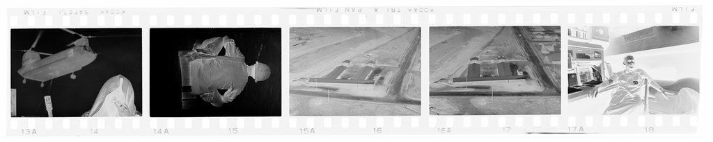 Untitled (Soldiers; Aerial View Of Base; Soldier In Bunk, Vietnam)