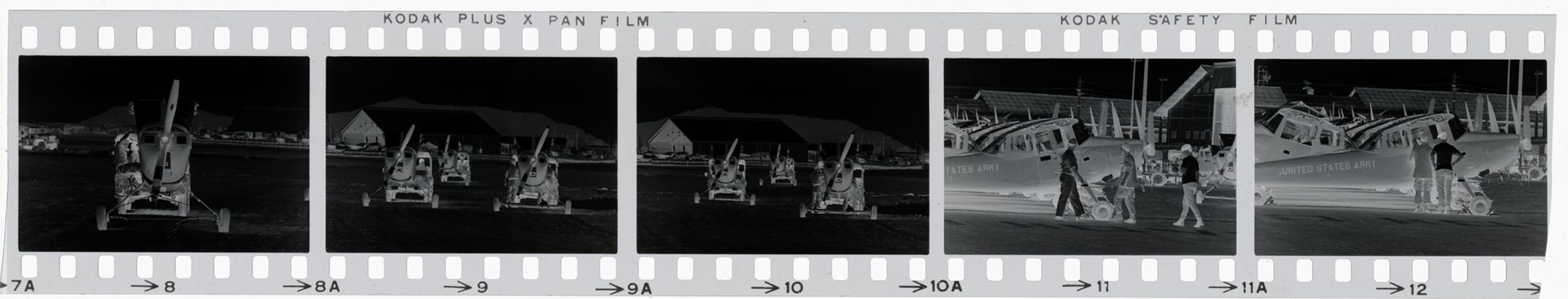Untitled (Propeller Planes Grounded At Base, Vietnam)