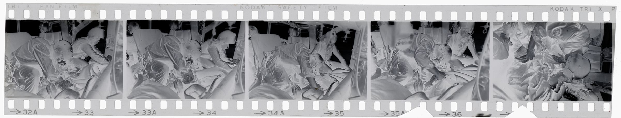 Untitled (Members Of 57Th Medical Detachment Treat Wounded Soldiers Inside Medevac Helicopter, Vietnam)