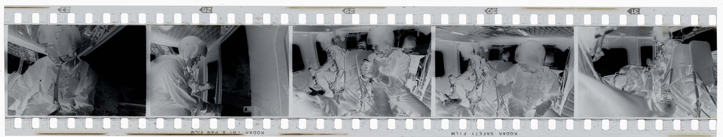 Untitled (Inside Medevac Helicopter, Vietnam)