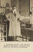 Drinker at Harvard, 3 February 1933, Digital Object