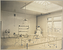 Charity, Hospitals: United States. New York. Syracuse. Hospital for Women and Children: Hospital for Women and Children, Syracuse, N.Y.: Operating Room..   Social Museum Collection