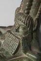 Amphora Handle With Satyr Playing Syrinx